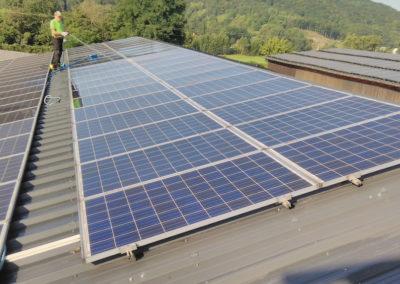 Wir reinigen Ihre Photovoltaik- und Solaranlagen
